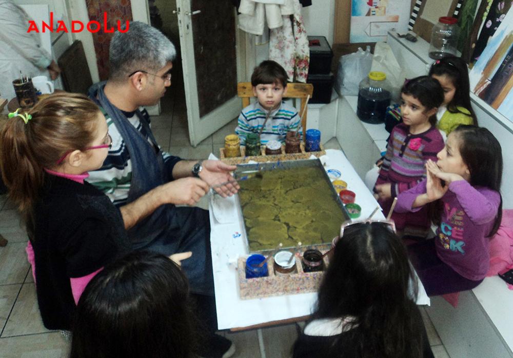 Çocuklar İçin Ebru Kursları