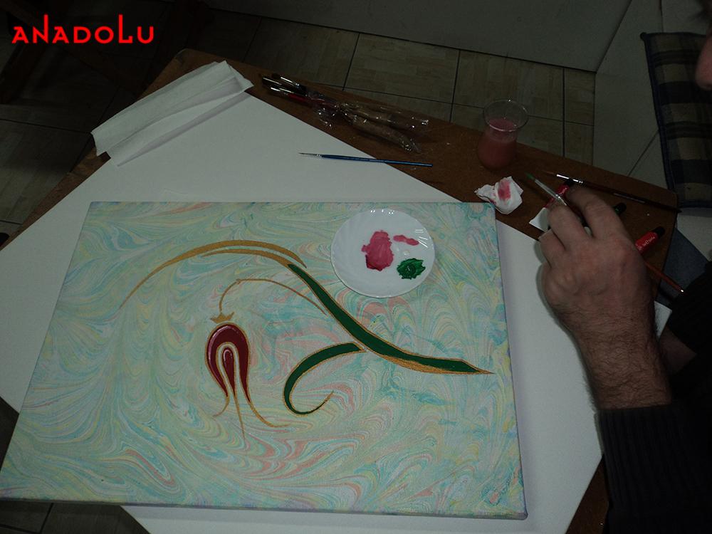 Ebru Sanatınla Neler Yaptık