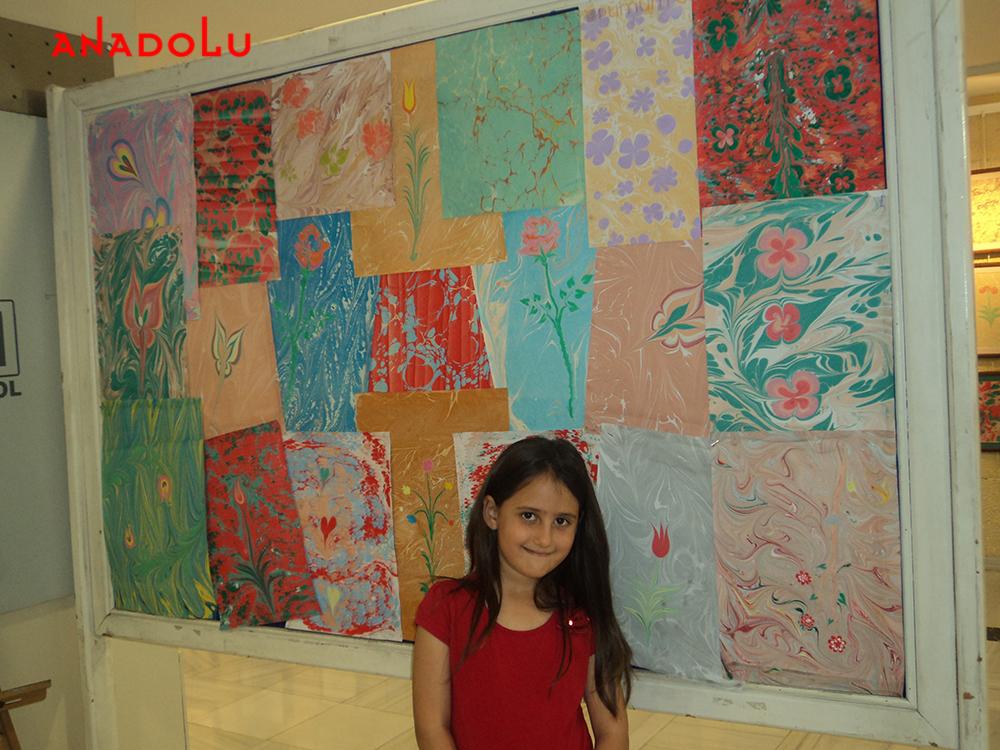 Çocuk Ebru Atölyesi