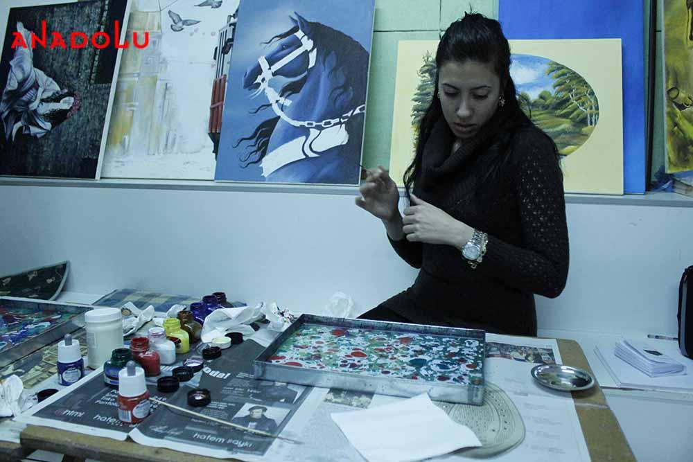 Yetişkinlerle Ebru Eğitimleri
