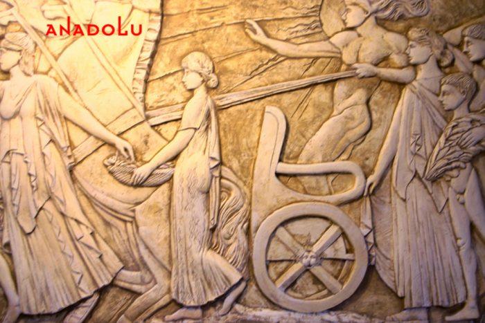 Anadolu Sanat Heykel Duvarı