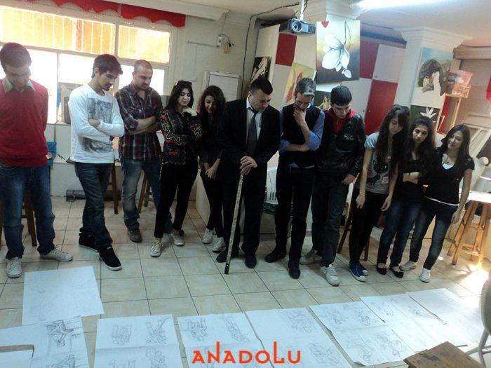 Üniversiteye Hazırlık Kurs Alan Öğrenciler