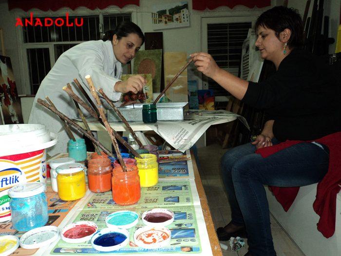 Yetişkinler İçin Ebru Eğitimleri